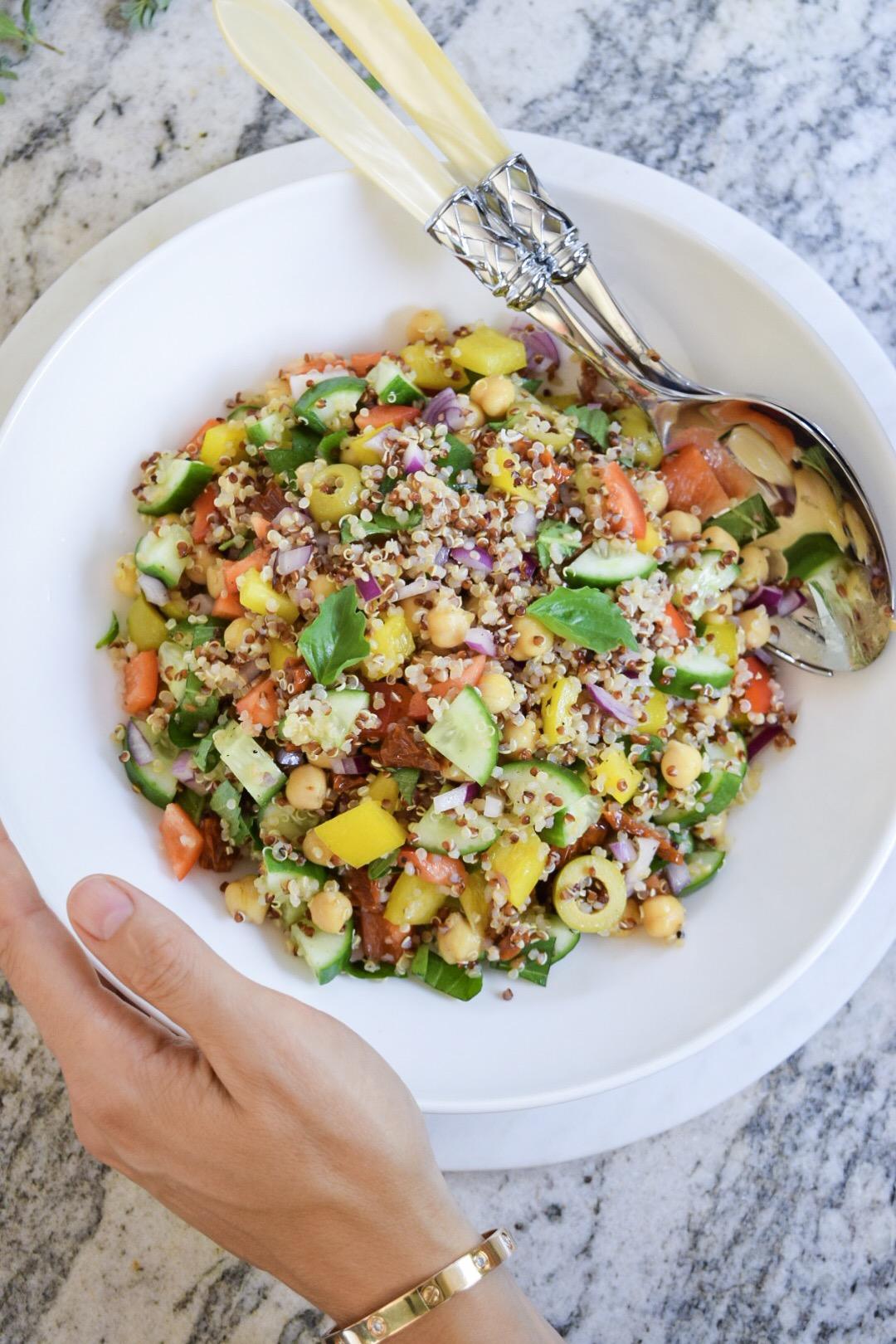 Dinner 3 - Med Quinoa Salad