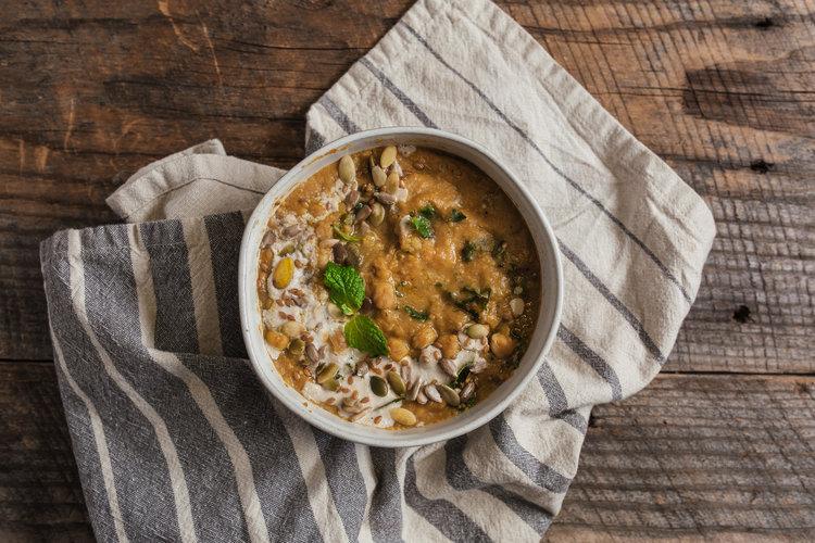 Dinner 2: Loaded Lentil Soup