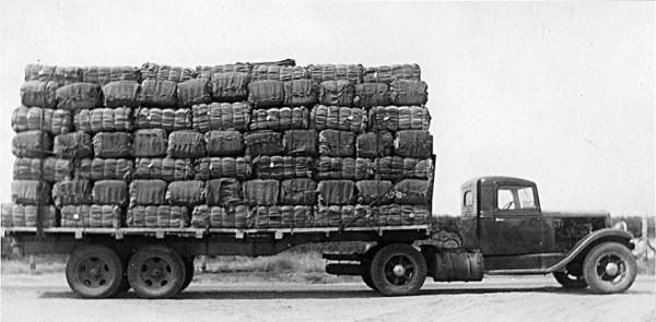 Friedman Bag Co. truck