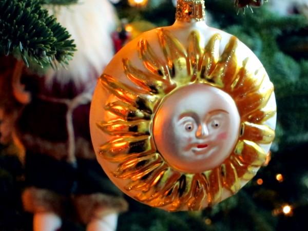 Sun Valley sun ornament