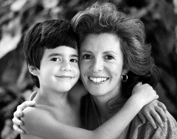 Sandy and son Matt