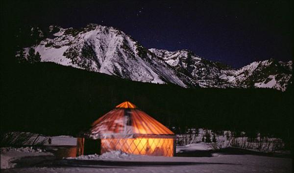 Sawtooth Wolf Camp Yurt