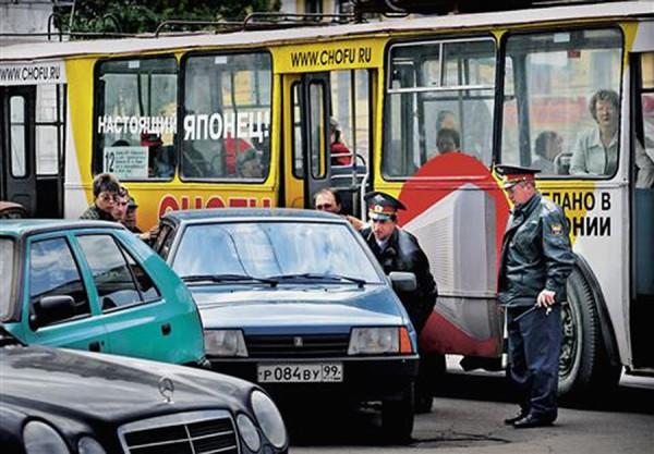 collision in St. Petersburg