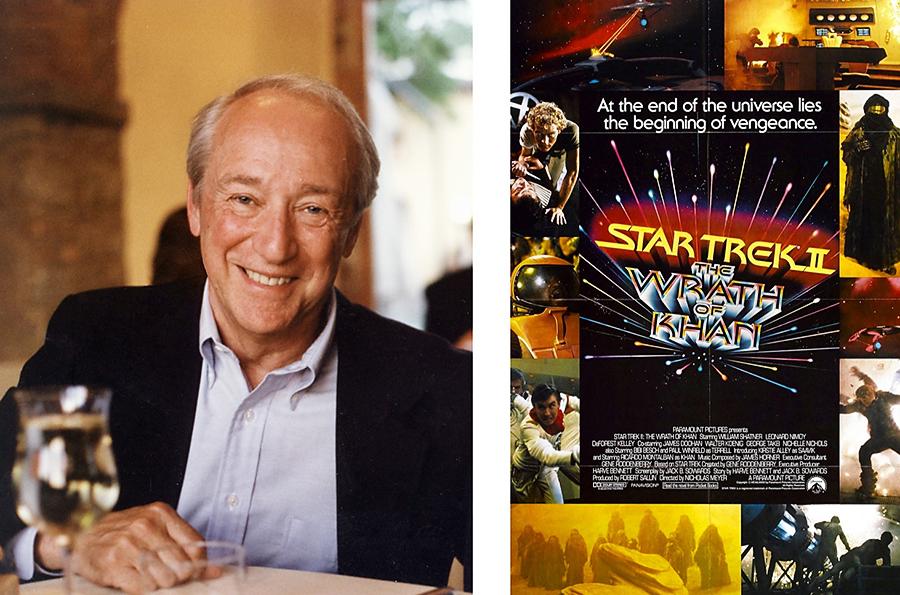 Robert Sallin, producer of Star Trek II The Wrath of Khan, and poster
