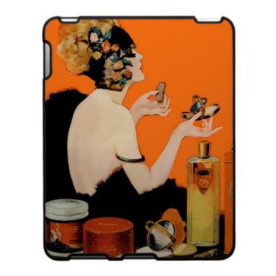 Vintage cosmetic fashion ad