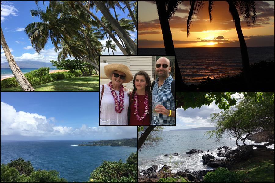 Anna, Matt and me in Hawaii