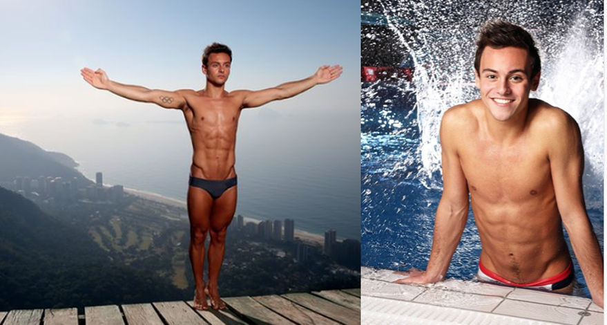 Tom Daley at Rio Olympics 2016