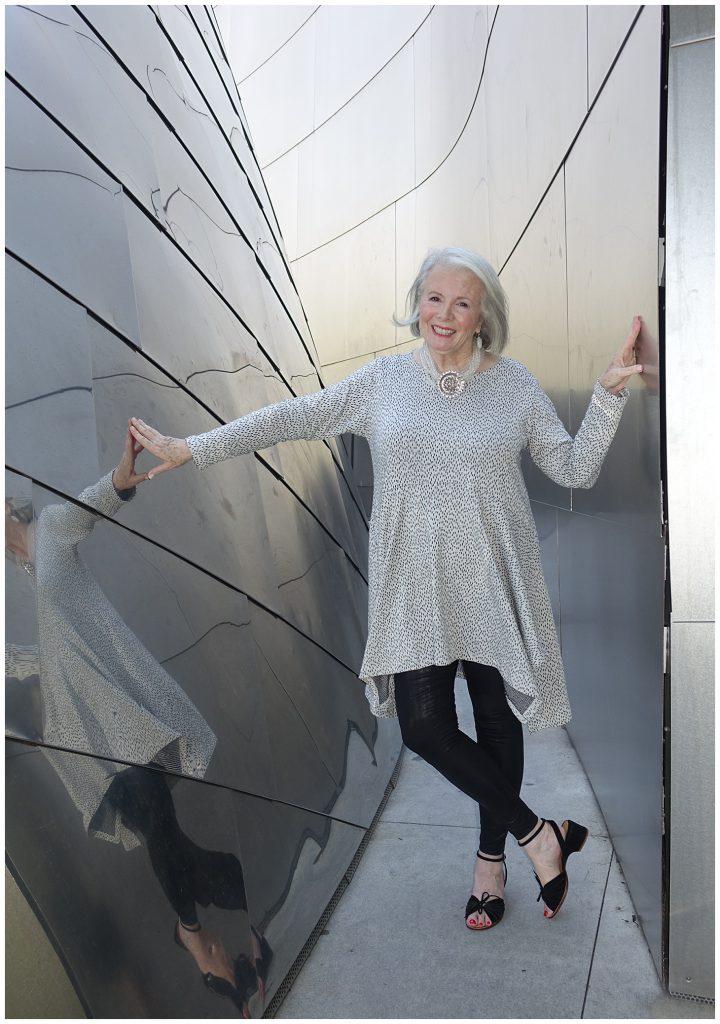Sandra Sallin at Walt Disney Hall