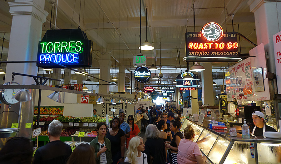 Grand Central Market Los Angeles