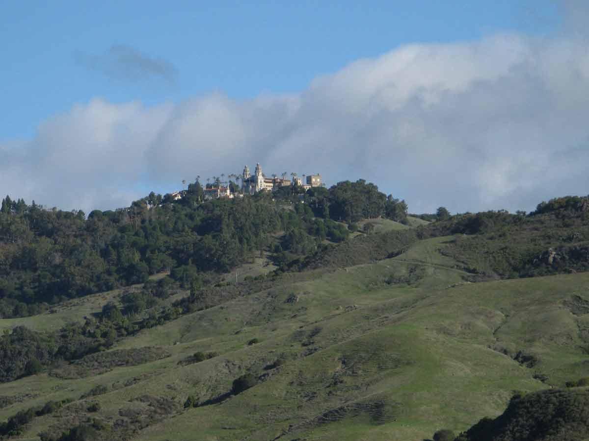 Hills surrounding Hearst Castle