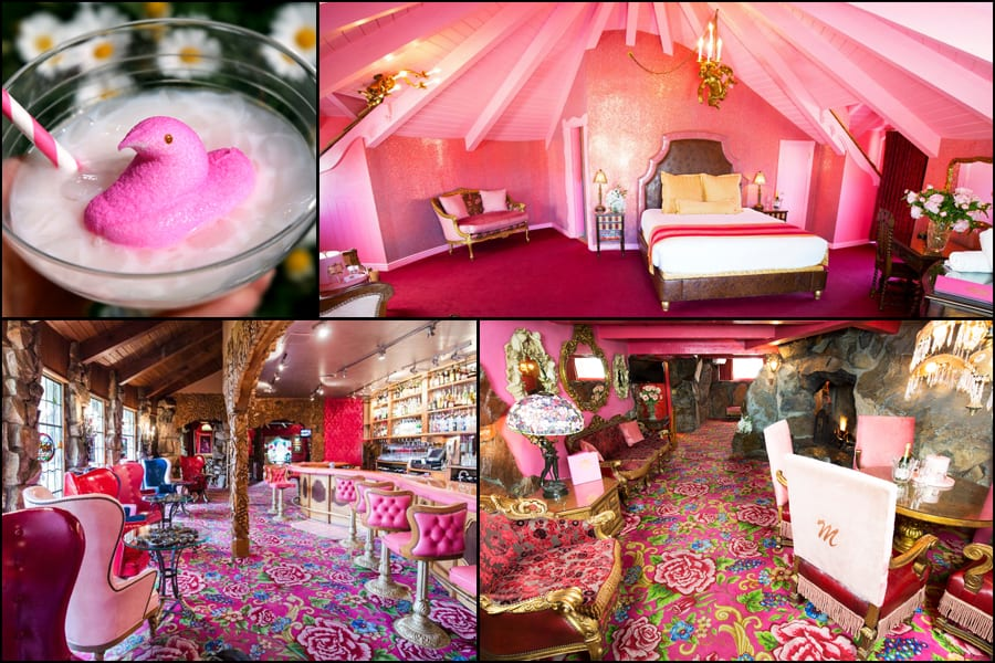 Rooms and a drink at the Madonna Inn