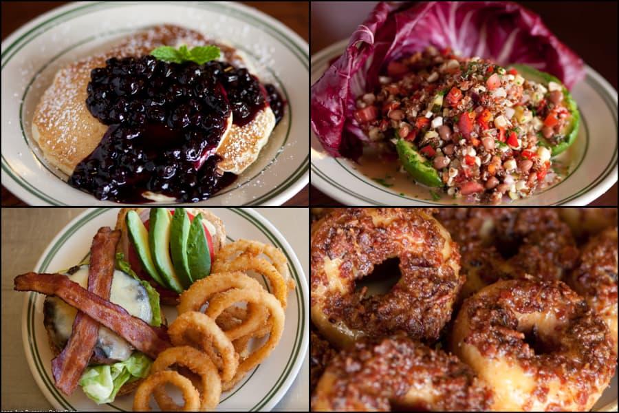 Nickel Diner food photographs