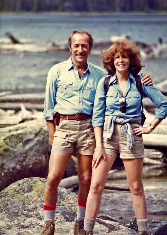 Sandra and Bob at Hell Roaring Lake