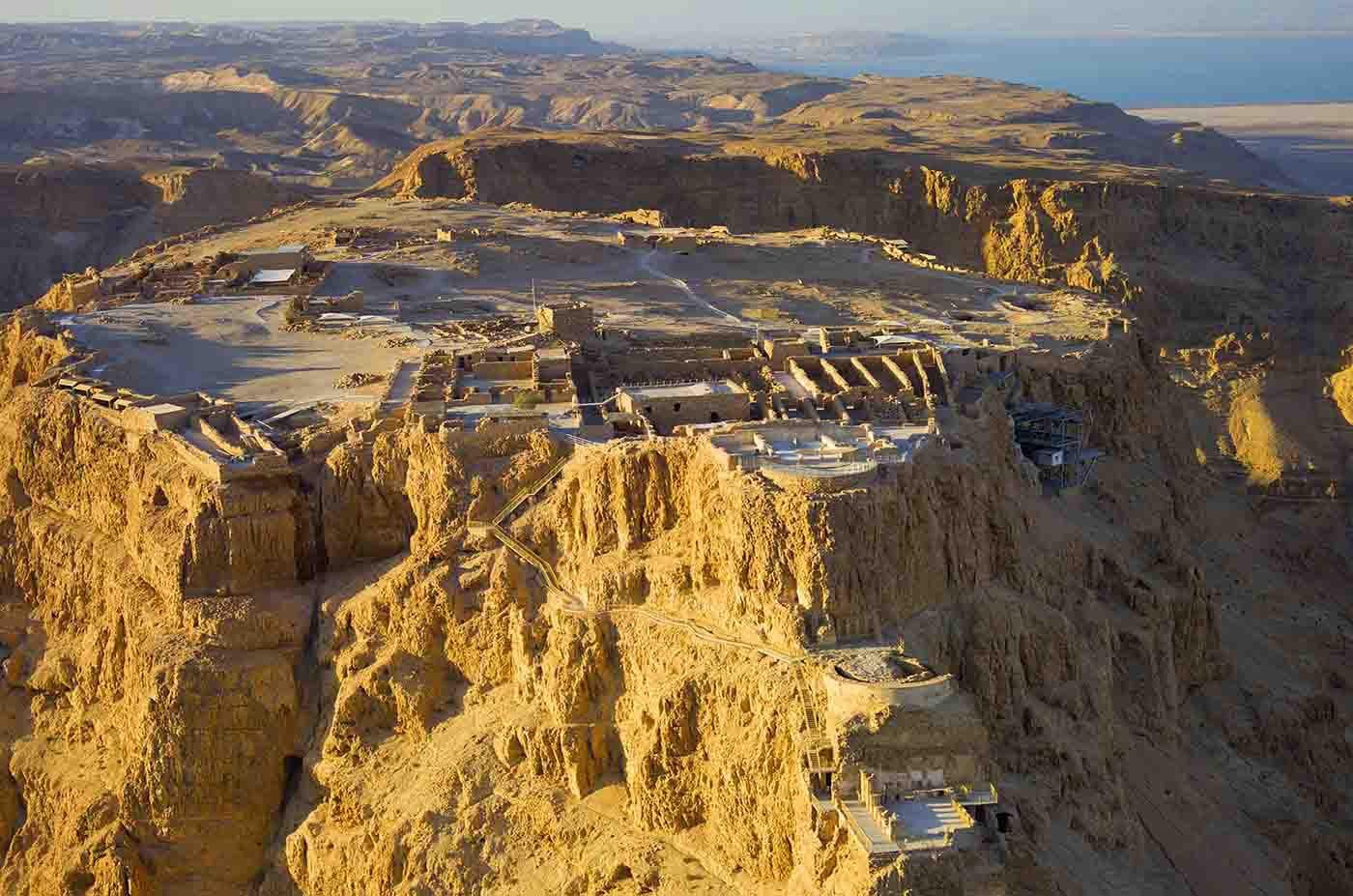 The Masada today