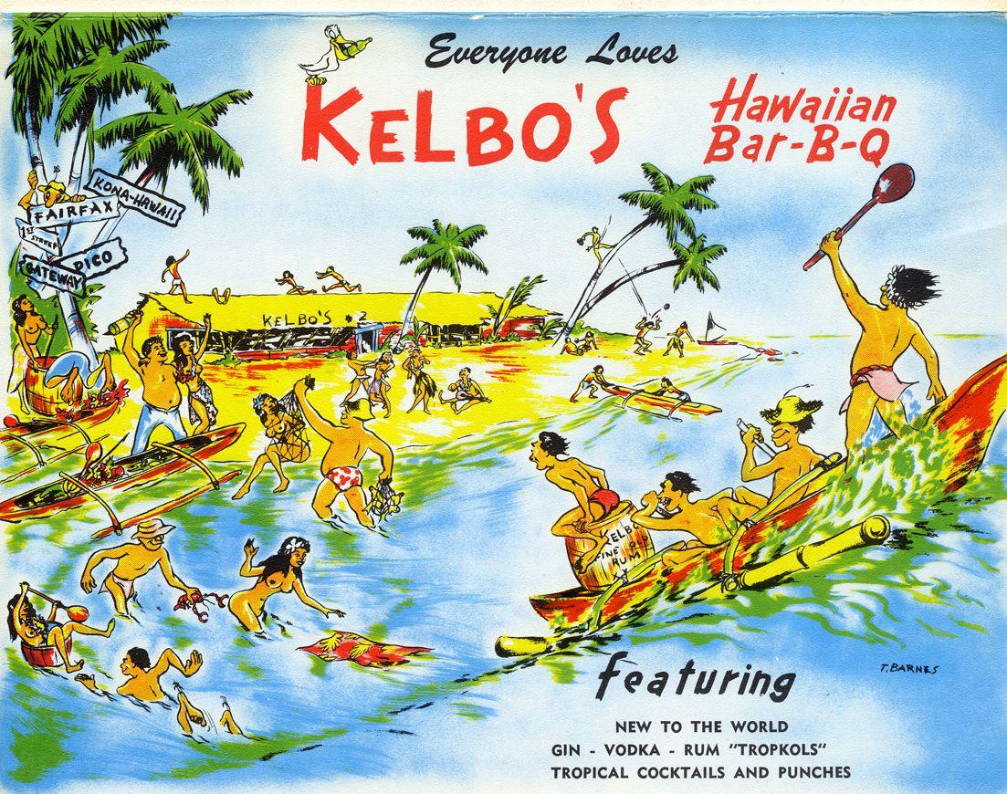 Everyone loved those drinks and those Hawaiian ribs. Yum.