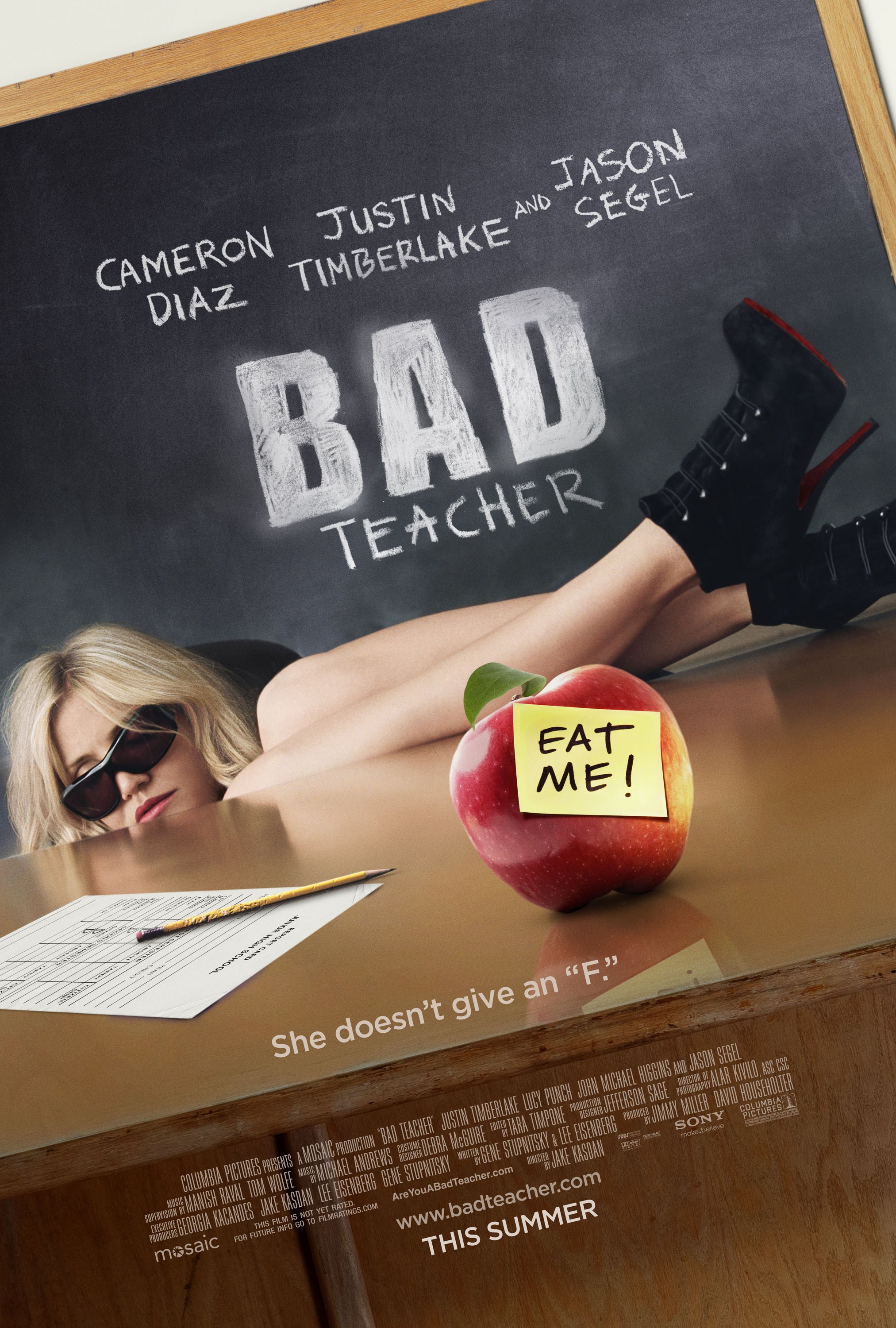 Bad Teacher - Score Rec, Mix