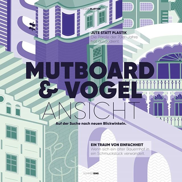 New perspective. Illustration for an alternativ cover for Austria's first design magazine: Murboard&Vogel.  Check it out! mutboard-vogel.media  @creative.industries.styria  #illustration #coverillustration #editorialillustration #perspective #architecture #buildings #austria #designmagazine #mutboardundvogel #release #graz