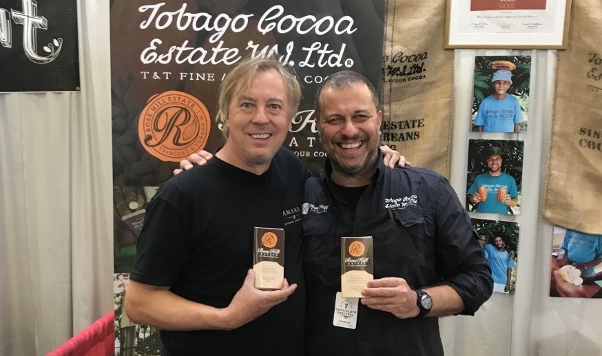 Meet Art Pollard from AMANO Chocolates - who made the very first Rosehill Chocolate Bar 68,9% ↧