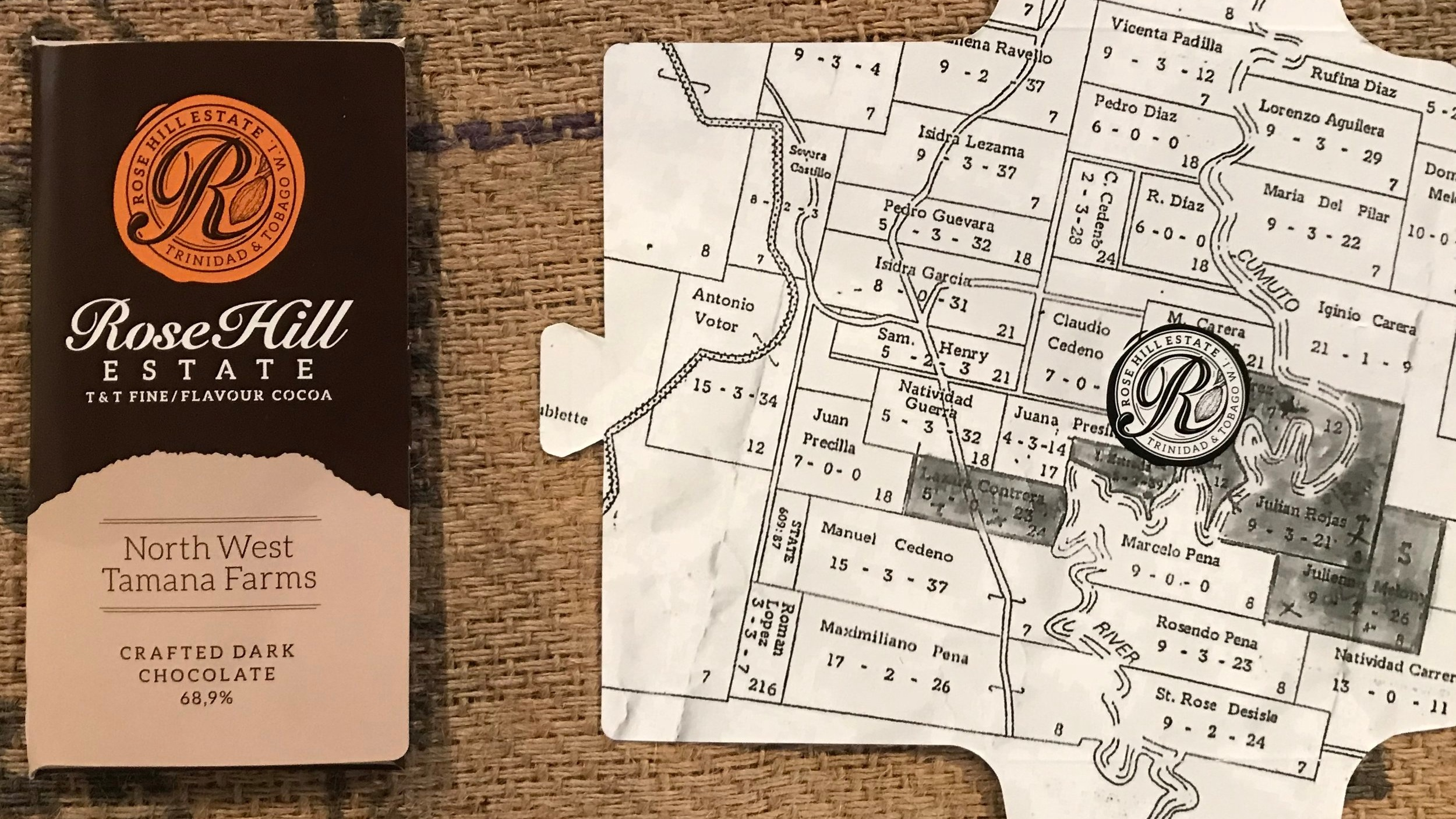 Check out our new packaging and find us on the map! -