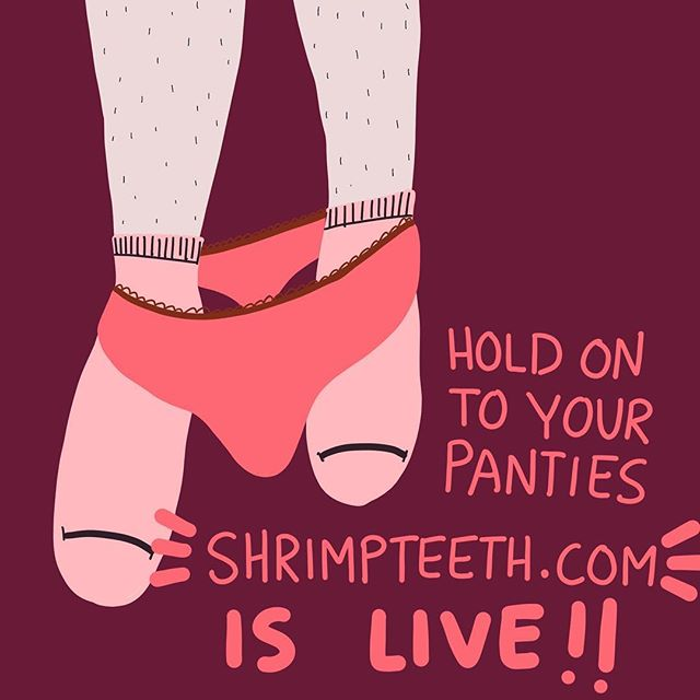 Woohoo! Shrimpteeth.com is live! There are articles expanding on some of the ideas presented here. All sex-positive, easy to read, food for thought to make you love yourself and your sex life a little more! ❤️💃🏻❤️💃🏻 #sexpositive #sexology #consent #bodypositive #radicalselflove #sexy #feminist #feminism #loveyourself #love #relationship #couple #respect #empower #sexuality #sexeducation  #womenempowerment #art #artist #design #doodle #drawing #sketch #graphicdesign #digitalart #procreate #sketchbook #illustration #cauliflowerhour #shrimpteeth
