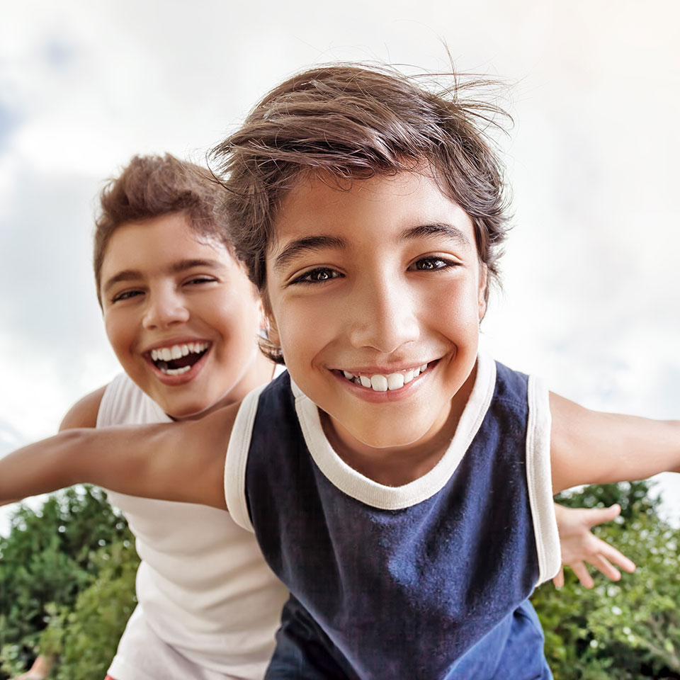 """- """"My kids have been patients since 2006 Dr Garrett took over the office after we lost Dr D and did it seamlessly. The staff is always cheerful and kind and the front staff is efficient too. I highly recommend this group for any orthodontic issues""""— SANDI T."""