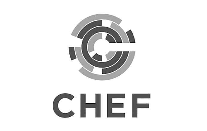 Chef logo black and white