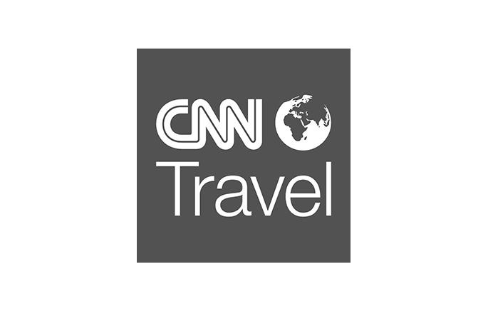 CNN World Travel logo black and white