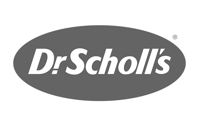 Dr Scholl's Shoes logo black and white