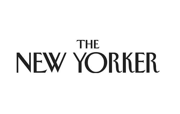 New Yorker logo black and white