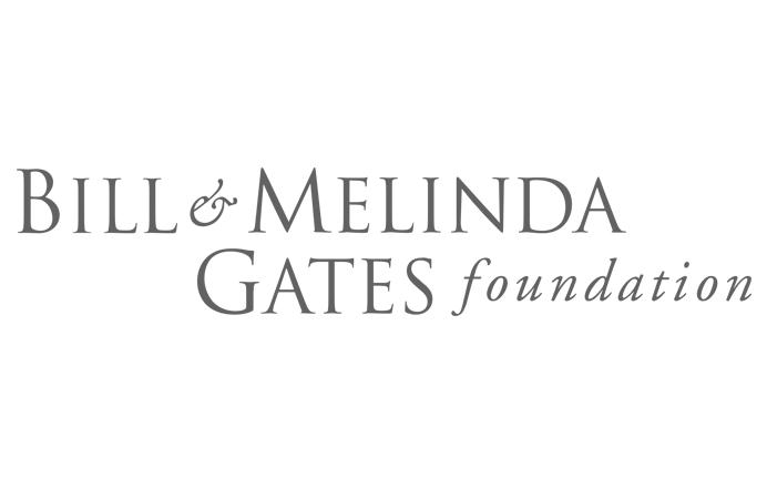 Bill and Melinda Gates Foundation logo black and white