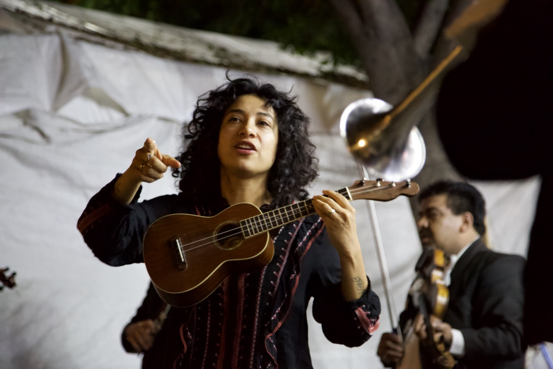 In Guatalajara, Mexico near the birthplace of Mariachi, these musicians play incredible music for the evening crowds.