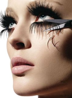 long-lashes