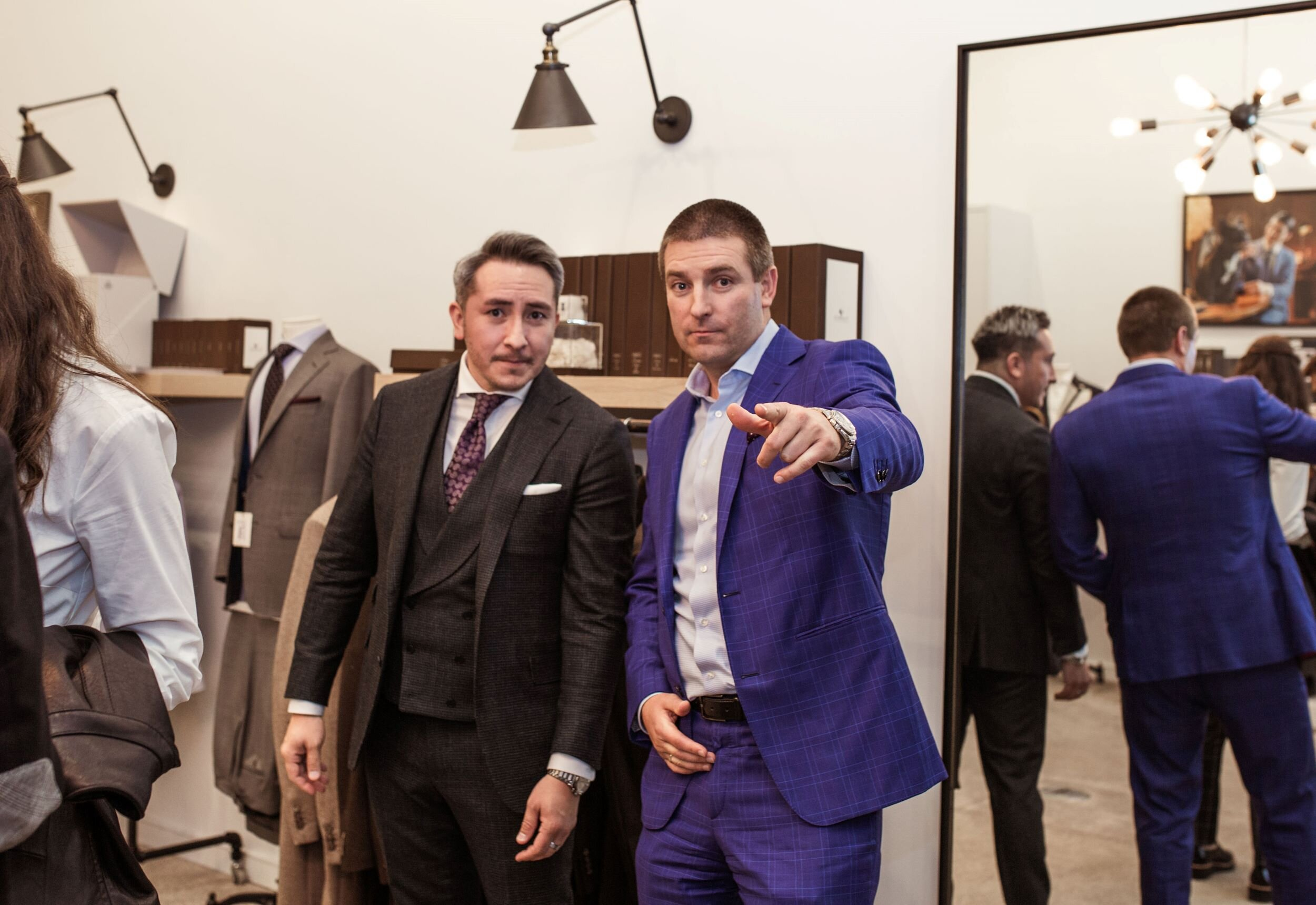 Tatsu Ogata of Icon Suit at The Men's Issue Party by Cherry Creek Fashion Magazine