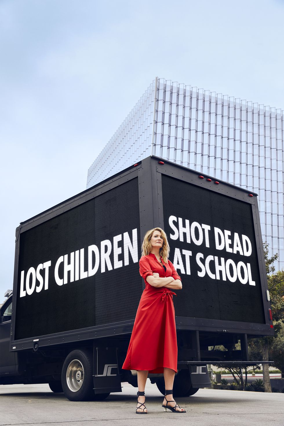 "SARAH CHADWICK, LAURA DERN, & DIANE KRUGER FIGHT FOR GUN VIOLENCE PREVENTION - ""PUBLIC SAFETY IS NOT A PRIVILEGE"""