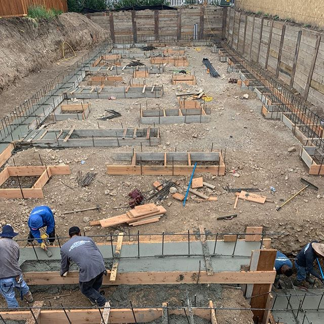 Every business needs a strong foundation! Especially when it is an Inn!  #concrete #construction #architecture #jackson #wyoming #jacksonhole #contractor #house #inn