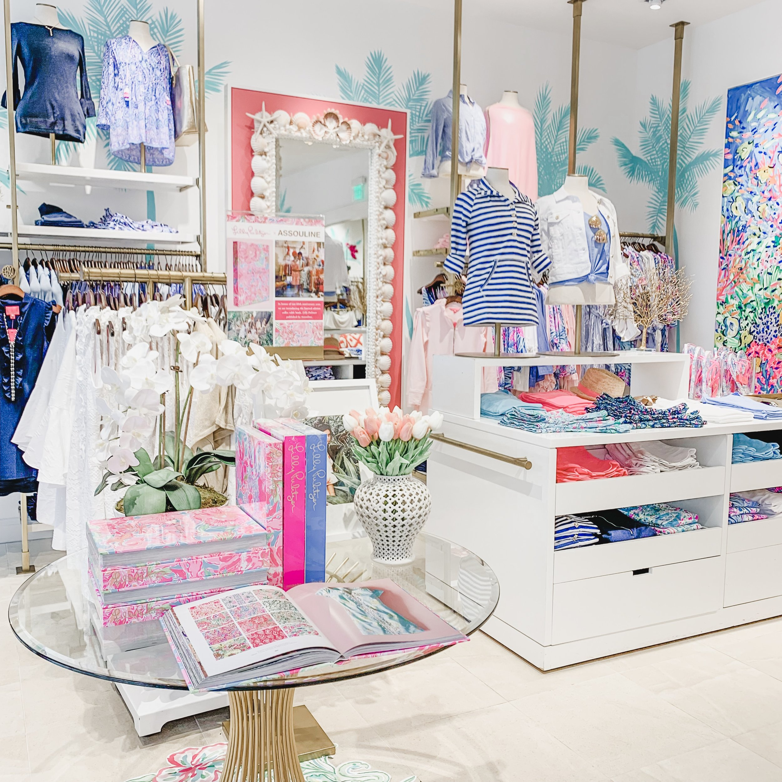 We went on a shopping trip to  Short Pump Town Center  and stopped in  Lilly Pulitzer .