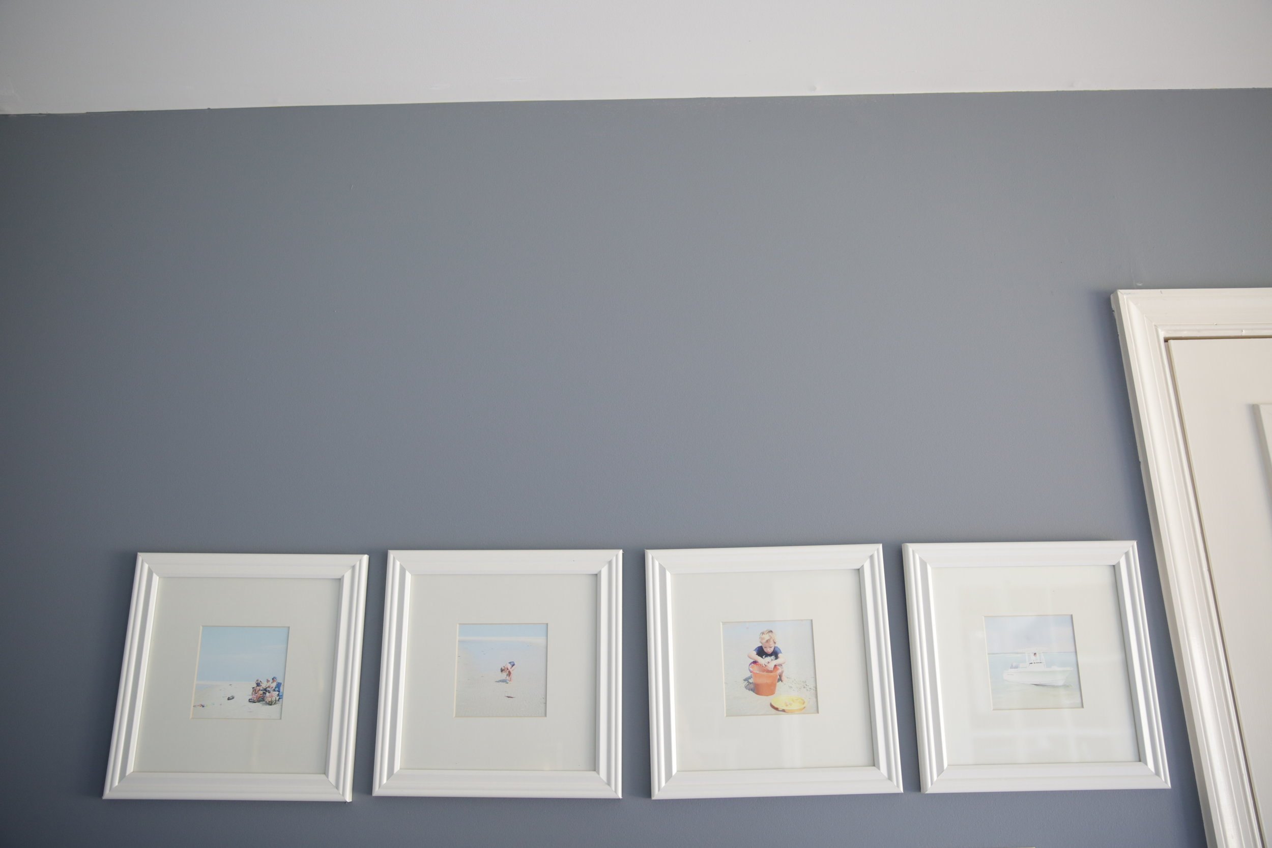 A gallery wall of one of my favorite days at the beach