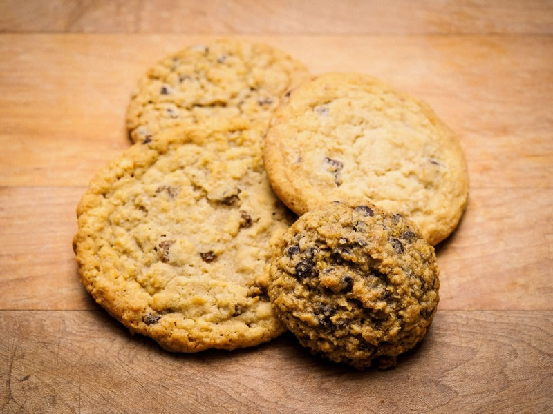 cookies - Nothing beats a homemade cookie.