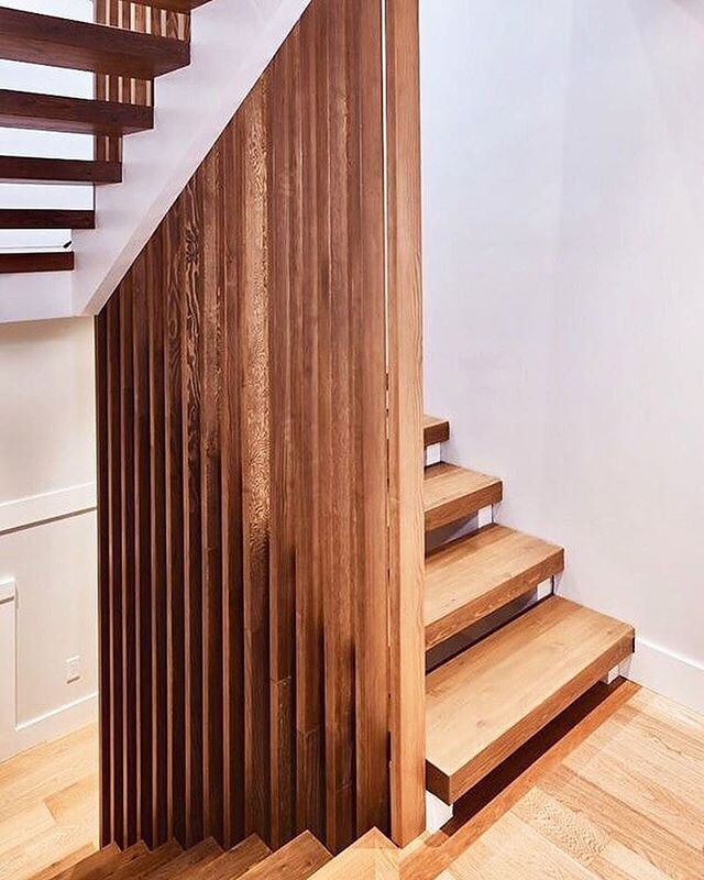 We love the gorgeous design of @nick_bray_architecture's stairs at the #projectmintvan project in Vancouver, beautifully executed by @actisprojects.