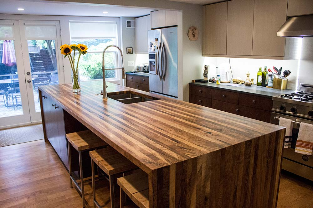 Image Credit:  Maryland Wood Countertops