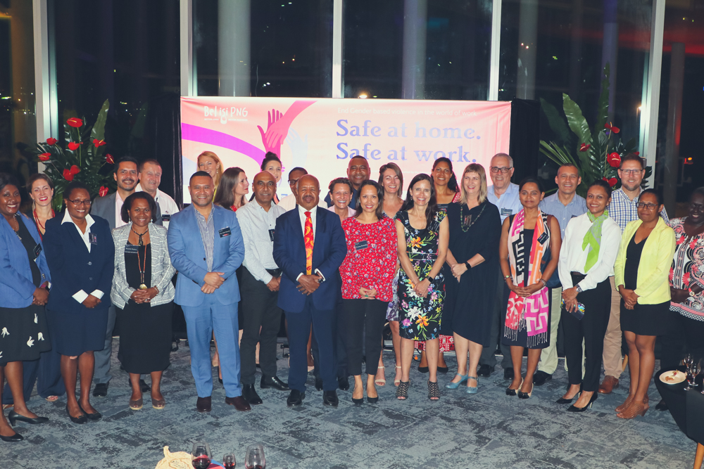 Group photo of guests at the annual Bel isi PNG Leadership Forum