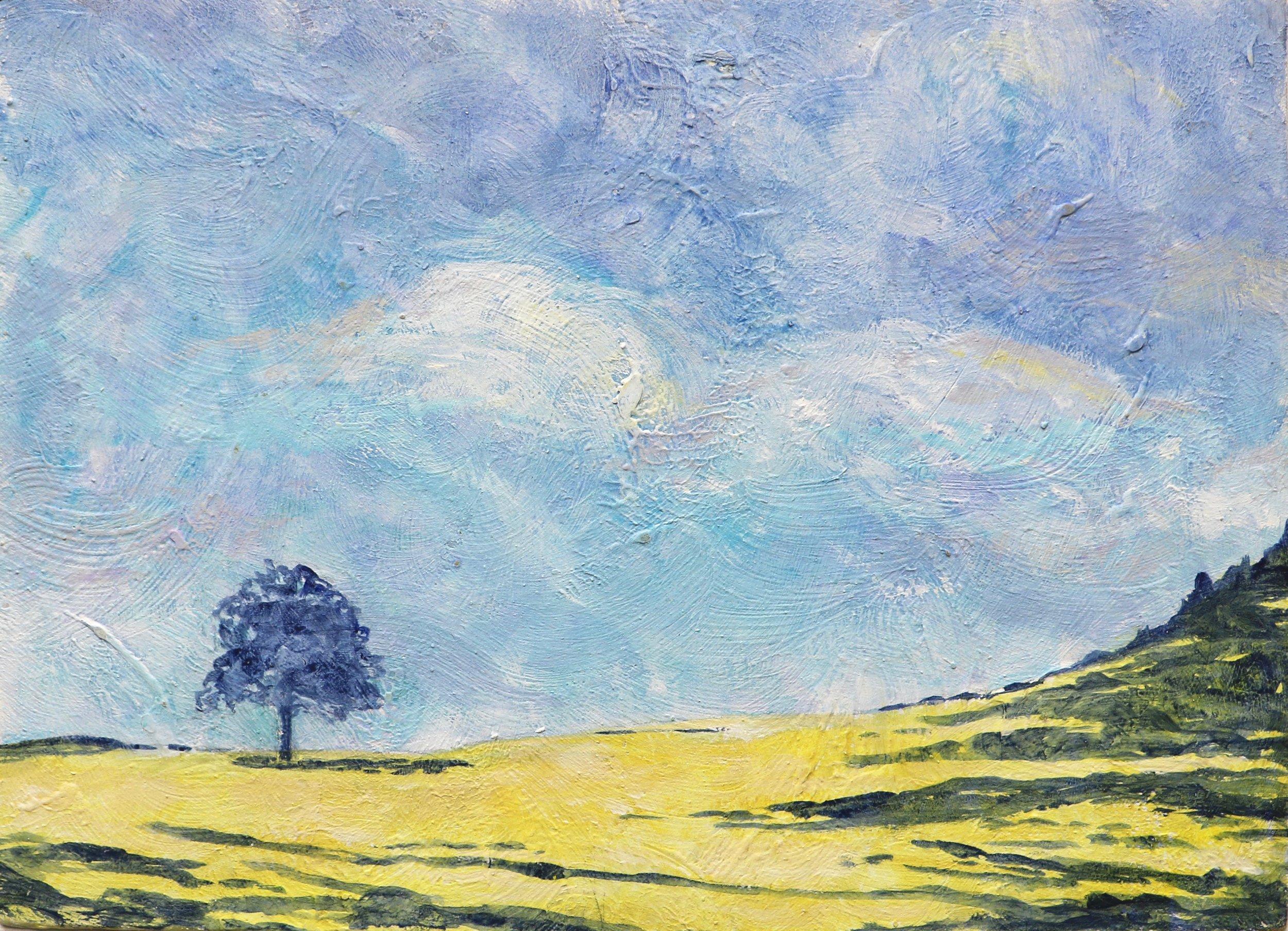 Blue Skies over Lone Tree