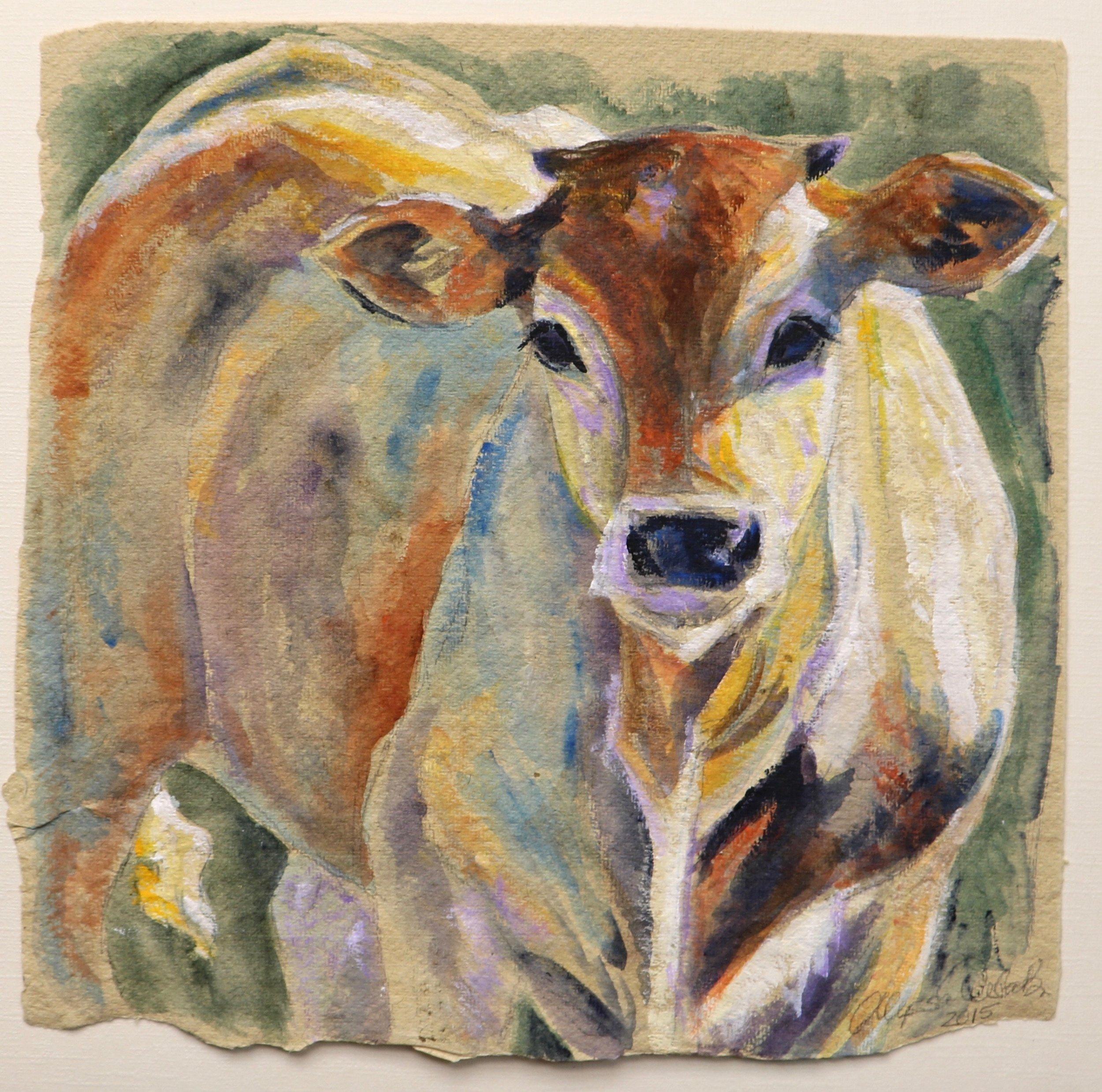 Calf in the Sunlight