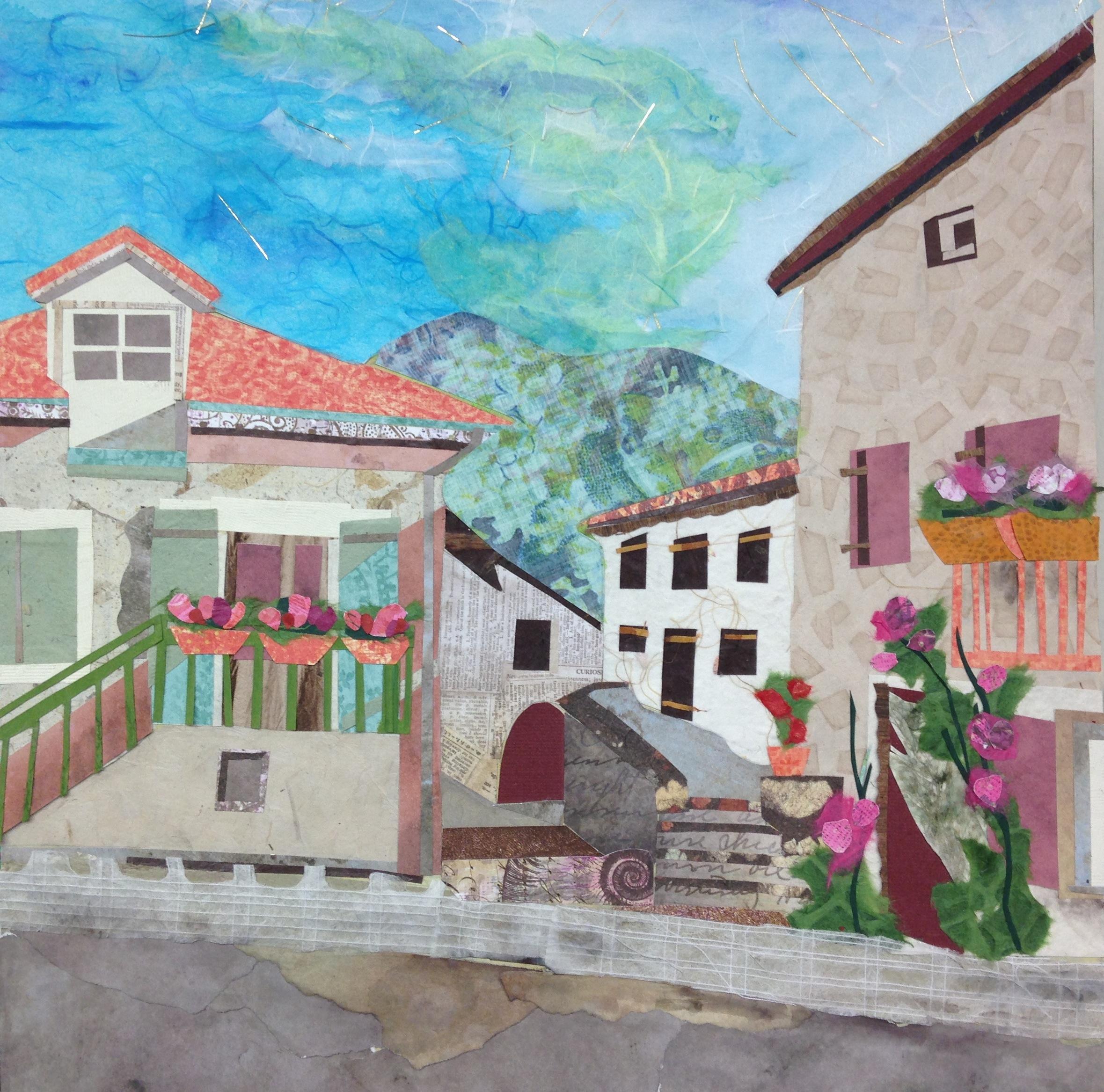 Village in Bloom, St. Pierreville, France
