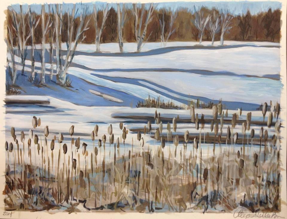 Winter Landscape in the Cove