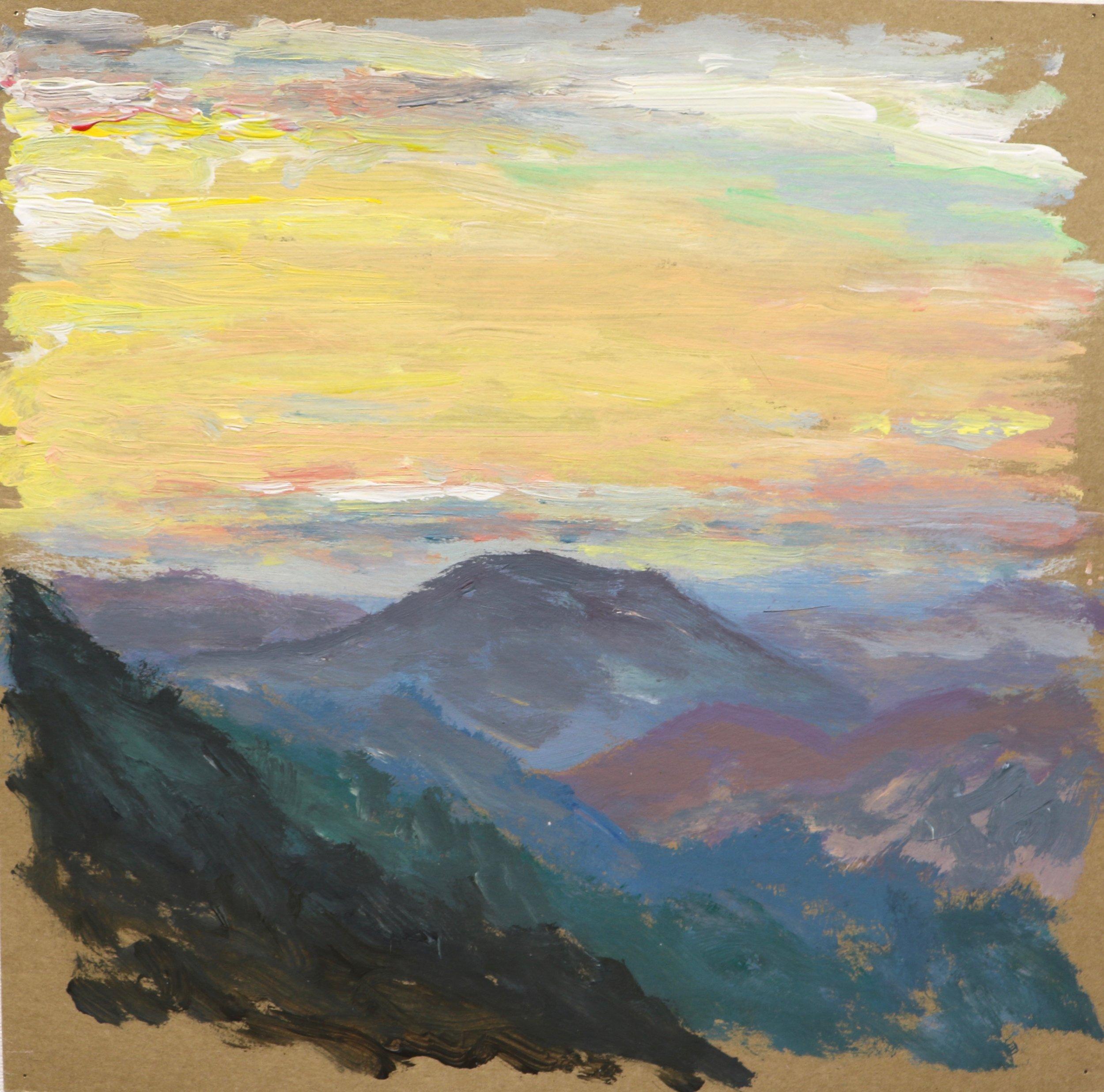 Sunrise, Les Tapies Valley #2