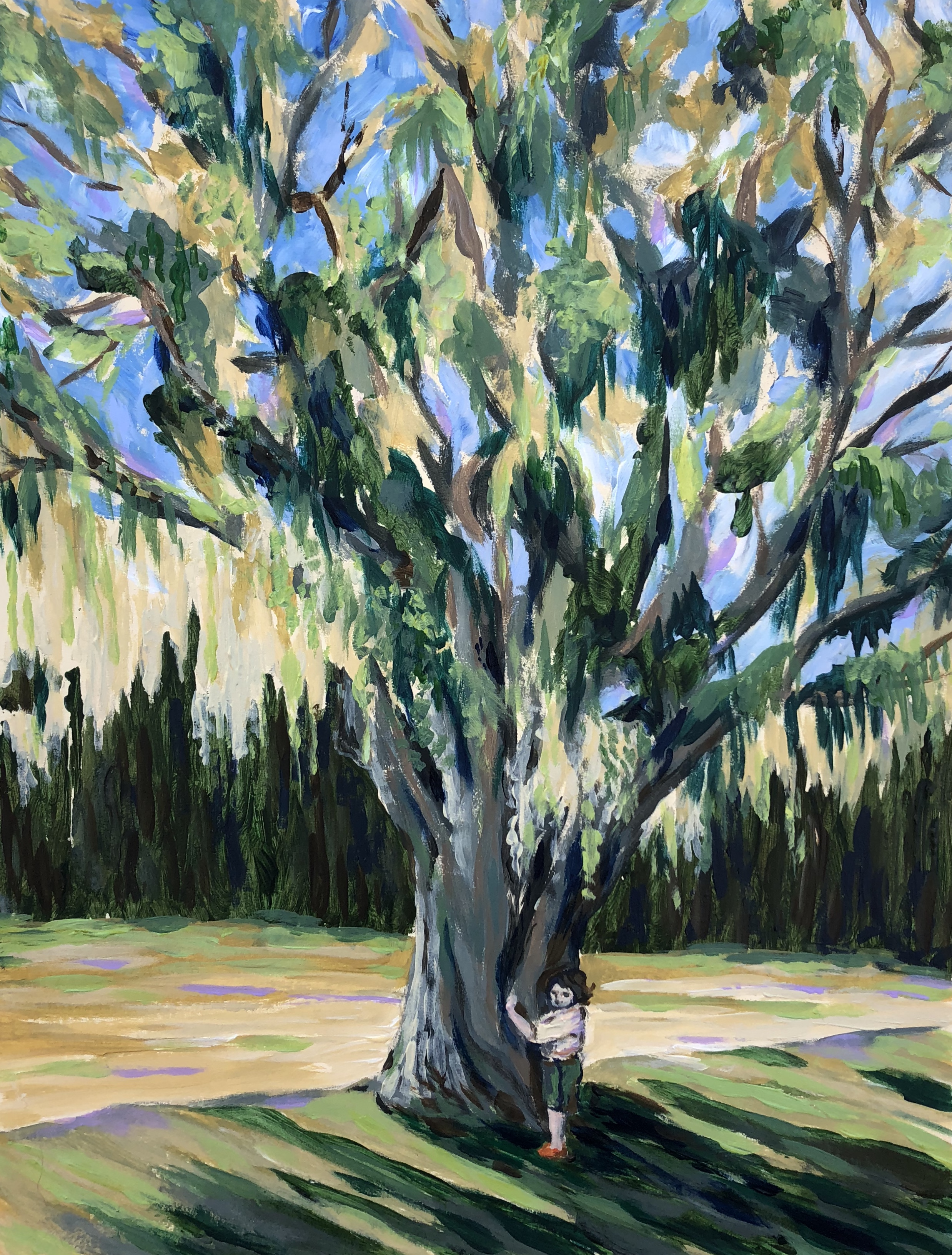 Tree Hugger - Everglades National Park - acrylic