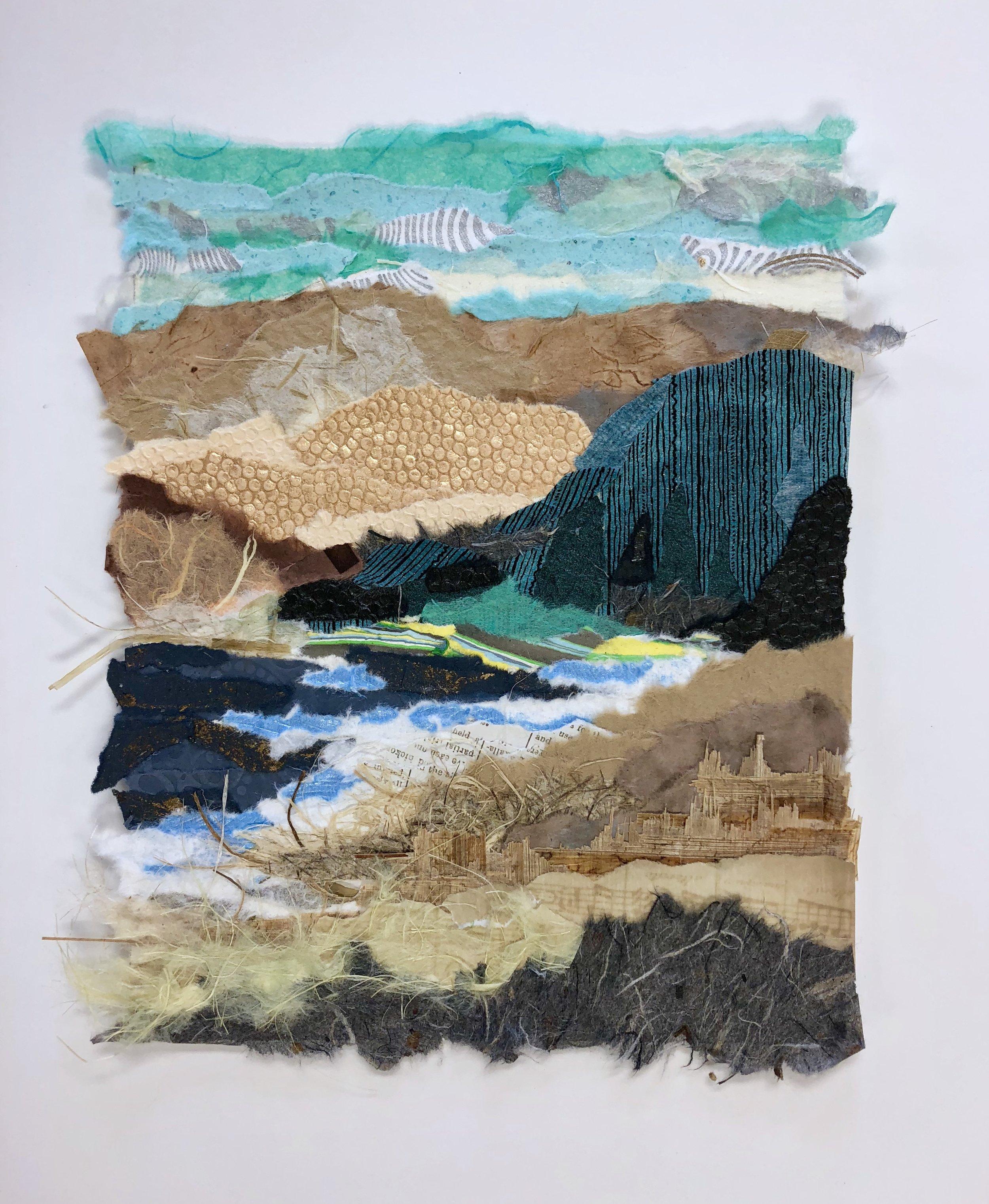 Santa Cruz Island - Channel Islands National park - collage