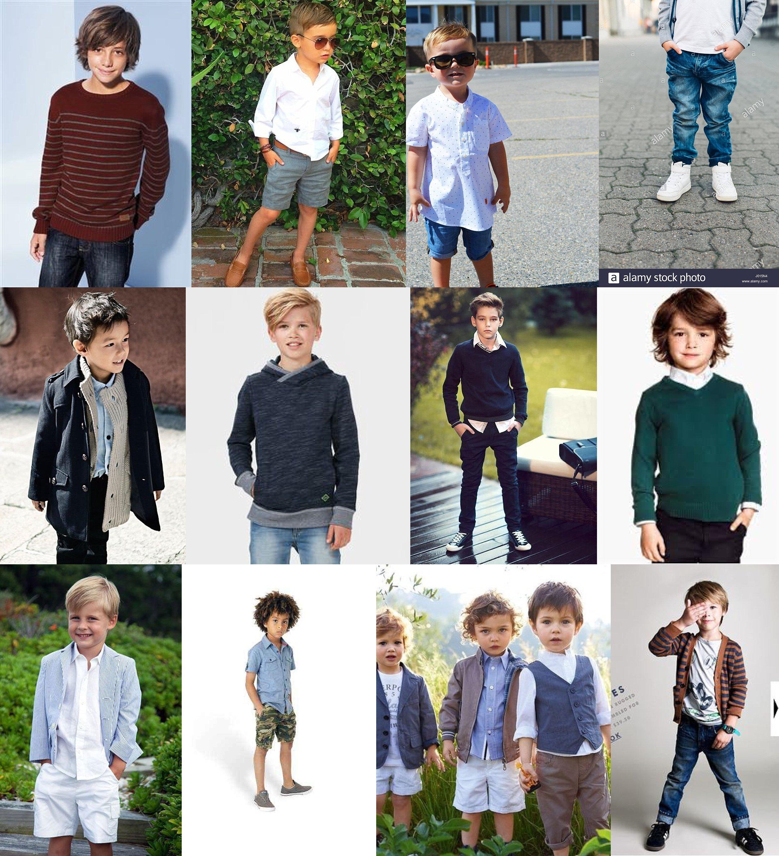 4. DRESS THE BOYS THE SAME AS YOU DO THE MEN