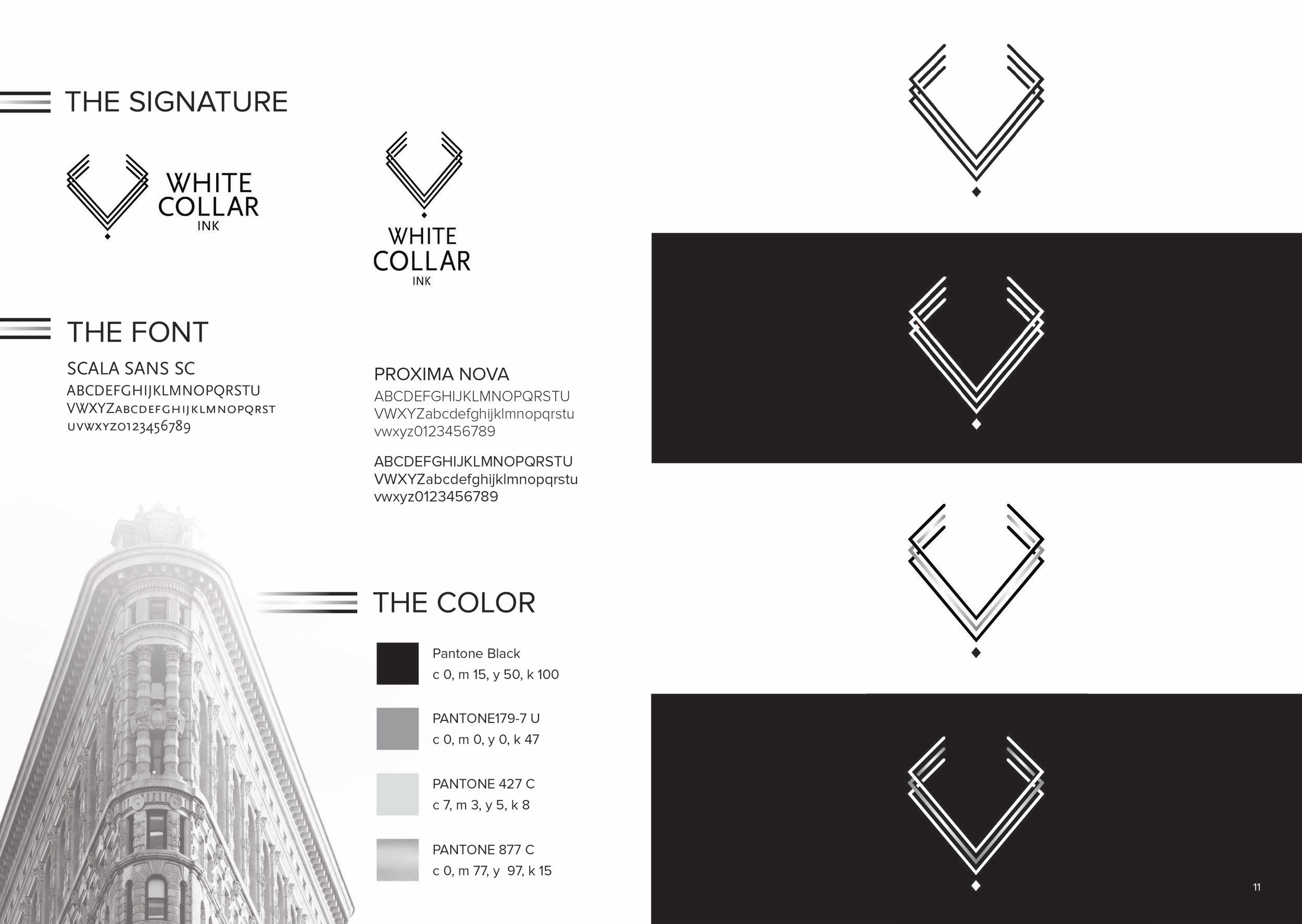 White Collar Ink - Brand Guidelines